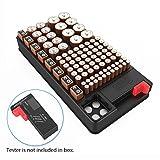 Batteriebox, ABILITH Batterie Batteriehalter Akkubox...