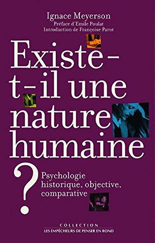 Existe-t-il une nature humaine ?