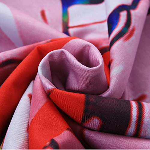 THENICE damen Hip-Hop Lange Ärmel Sweatshirts Bleed