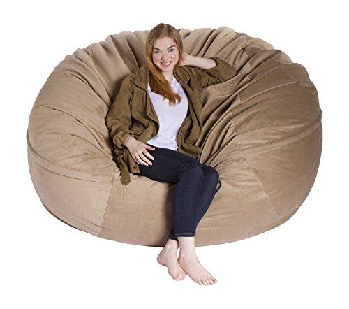 Giant Bean Bag Chairs Premium Foam-Filled Lounge Sac