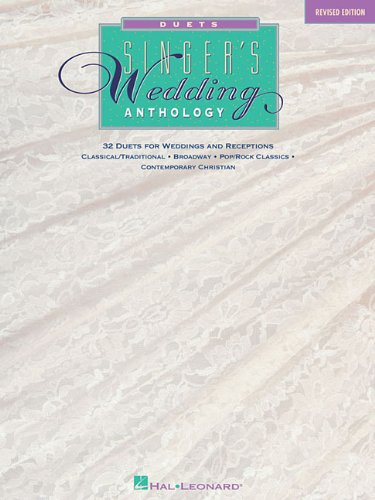 Singer's Wedding Anthology Edition: 32 Duets