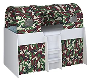 Kidsaw, Loft Station Tent - 3 Parts in Camouflage