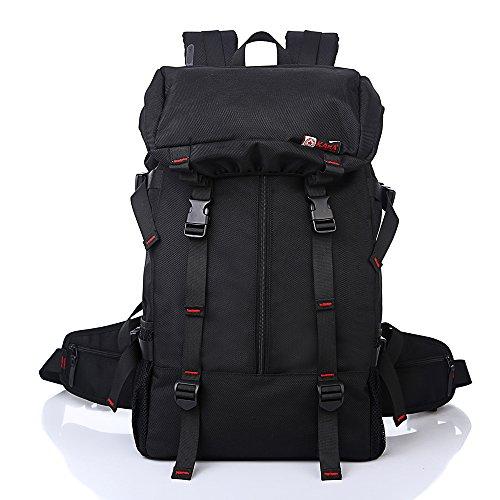 Trekkingrucksack Schwarz wandern mit großer kapazität in der tasche oder rucksack mgb 50l sport reisetasche reisetasche für männer