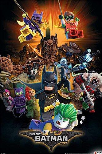 The LEGO Batman Movie Charaktere (61cm x 91,5cm) + Ü-Poster