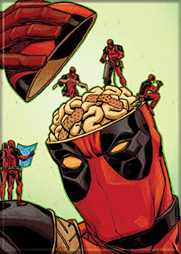 Ata-Boy Marvel Comics Deadpool - Imán neveras taquillas