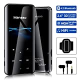 """MP3 Player 2.4"""" Large 3D Curved Screen 8GB Bluetooth 4.2 Millisecond-level Touch Digital"""