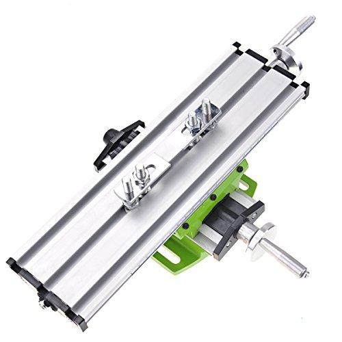 Miyare Mini Multifonction Fraisage Table de Travail Fraiseuse Composite Perçage Table de Coordonnées 310x90 mm