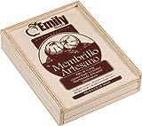Produkt-Bild: Quittenbrot Gourmet in 250 g Holzkiste von Membrillo Emily aus Spanien/Valencia