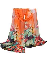 Echarpes et foulards Amlaiworld Mode Femmes Grand foulard de vase Longue  écharpe douce Mesdames châle Écharpe 4b6f0481a4e