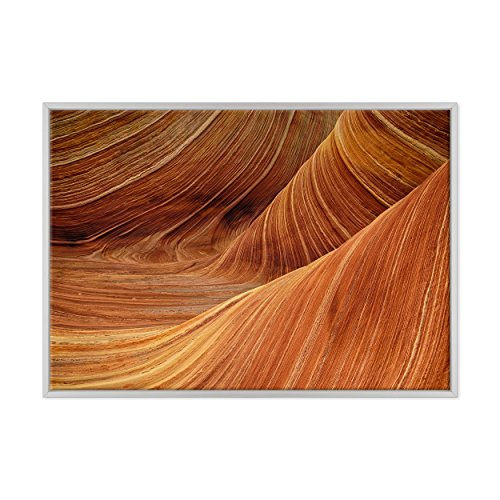 Bild auf Leinwand Canvas–Gerahmt–fertig zum Aufhängen–Grand Canyon–Colorado–Nationalpark USA America–Natur Landschaft Panorama Dimensione: 70x100cm B - Colore Bianco Moderno