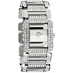 D&G DW0219 Royal Ladies Crystal Bracelet Watch