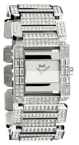 D&G Dolce&Gabbana Damen-Armbanduhr ROYAL SLV DIAL BRC DW
