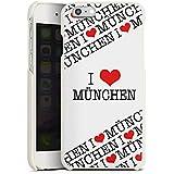 Apple iPhone 6 Lederhülle Leder Case Leder Handyhülle München Bayern Statement