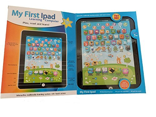 Allkindathings bt590019My First Year Kinder iPad Stil Spielzeug Tablet Laptop Computer Educational Learning