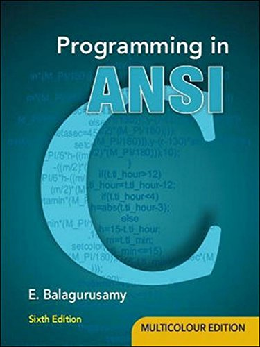 Programming in Ansi C (Old Edition)