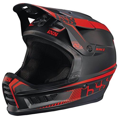IXS Xact Fullface Helmet black/fluo red Kopfumfang 57-59 cm 2017 Downhill Helme
