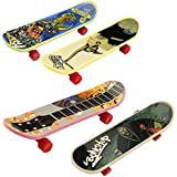 St.Mandyu 12 Pcs Professional Mini Fingerboards Finger Skateboard With Non-slip Pad
