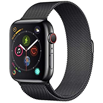 Apple Watch Series 4 Reloj Inteligente Negro OLED Móvil GPS ...
