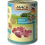 Mac's Lamm & Geflügelherzen (mit Reis) 6 x 400g