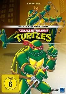 Teenage Mutant Ninja Turtles - Box 2 (25 Episoden) [3 DVDs]