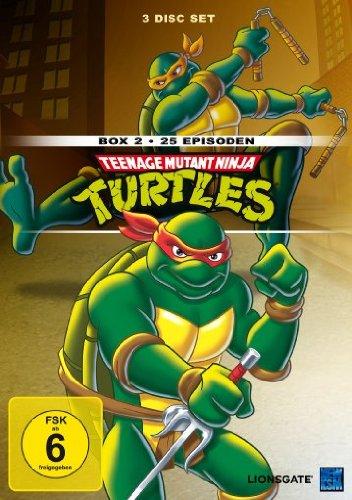 Teenage Mutant Ninja Turtles - Box 2 (25 Episoden) [3 ()