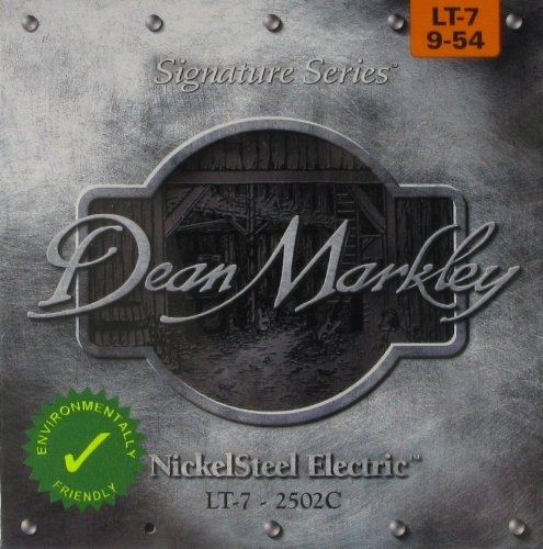 Dean Markley DM-2502C-LT 9-54 Light Nickel Steel Electric Signature Guitar Strings (Pack of 7) -
