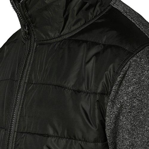 Campus Sutra Men's Plain Jacket (AZW17L_JKLDRHD_M_PLN_CHBL_AZ_XL)