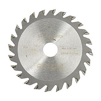 Hoja de sierra circular de carburo de 24 dientes, 85 mm x 15 mm Disco de corte de herramienta rotativa para trabajar la madera con 24 dientes de carburo cementado de 24 dientes