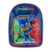Pj Masks Bpack W/Front Pocket Bags & Accessories Synthetic Material Kids Bags Blue/Red/Green