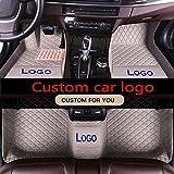 LUVCARPB Tappetini Interni Auto, Misura per Audi A1 A3 A4 A5 A6 A7 A8 A8L Q3 Q5 Q7 TT R8 RS7, Accessori Impermeabili Tappeto Auto