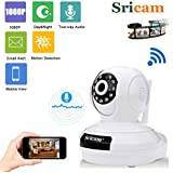 Sricam SP019 2.0 MP Wireless Full Hd 1080P IP Wifi CCTV Indoor Security Camera (White)