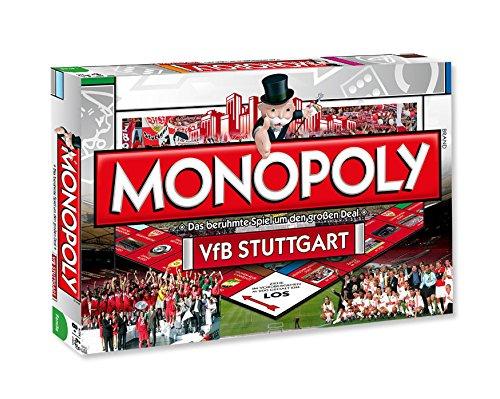 Ewig Tabelle (VfB Stuttgart Monopoly Spiel Gesellschaftsspiel / Brettspiel Geschenkidee Fanartikel)