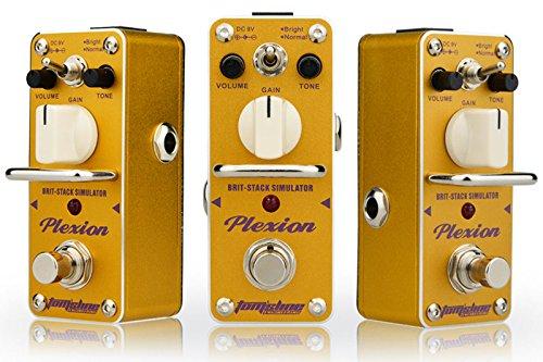 Tom\'sline Engineering PLEXION APN-3, Distortion Effektpedal, Erholung von 70-80 Marshall Tonverstärker mit 2 Modi des hellen und normalen Gitarrenpedals
