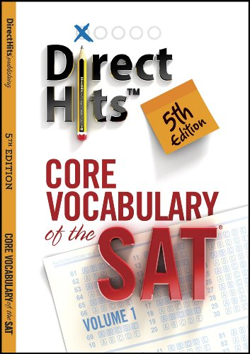 Direct Hits Core Vocabulary of the SAT 5th Edition (2013) (English Edition) Sat-core