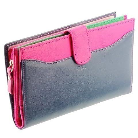 Portefeuille femme / Portefeuille en cuir A8092 Compagnon