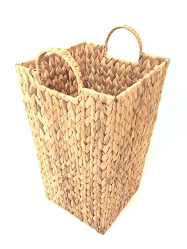 Portaombrelli (senza inserto), cestino in vimini con cornice in metallo, dimensioni 2