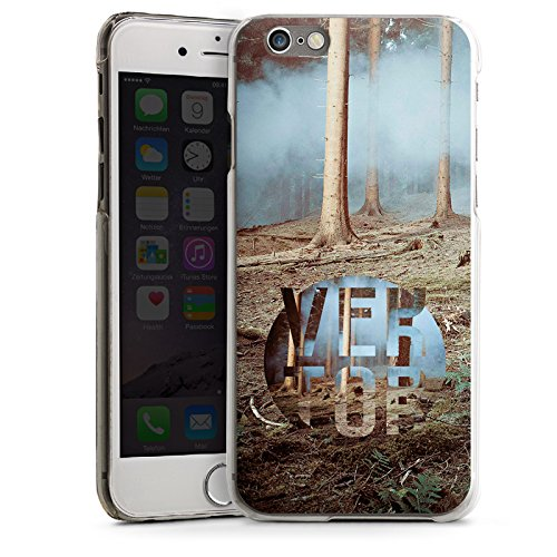 Apple iPhone 5s Housse Étui Protection Coque Arbres Forêt Sol CasDur transparent