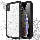 Coque Étanche iPhone XR,[Certifiée IP68] 360°Protection Waterproof Housse [Antichoc] Antipoussière, Anti-Neige pour iPhone XR 6.1', Blue