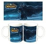World Of Warcraft The Lich King Arthas WoW Tazza Mug