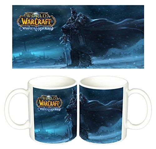 World Of Warcraft The Lich King Arthas WoW Tasse Mug