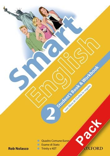Smart English. Student's book-Workbook-Culture book-My digital book. Per la Scuola media. Con CD-ROM. Con espansione online: 2