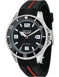 Sector reloj 43 mm R3251161035 negro tiempo solamente 230 Marina