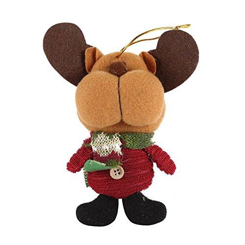 PanDaDa Weihnachtsgeschenk Weihnachtsmann Schneemann hängende Verzierungen Weihnachtsfest Festival Haupttabellen (Kostüm Urlaub Weihnachten Ideen)
