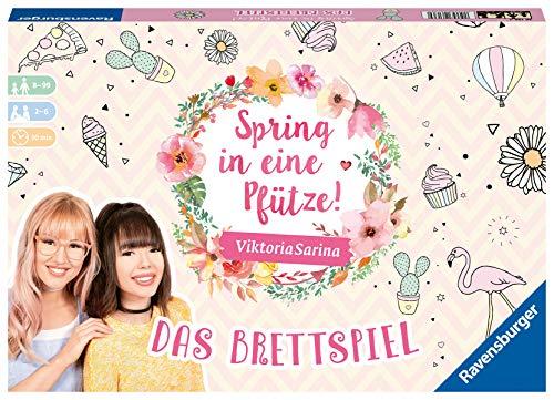 Ravensburger 26136 - Spring in eine Pfütze! - Das Brettspiel für Beste Freundinnen
