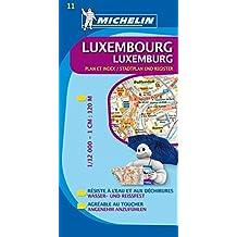 Michelin Luxemburg: Stadtplan 1:12.000 (MICHELIN Stadtpläne)