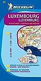 Michelin Luxemburg: Stadtplan 1:12.000 (MICHELIN Stadtpläne, Band 12)