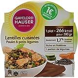 GAYELORD HAUSER MINCEUR Plats Cuisinés aux Lentilles et Poulet Diet 300 g -