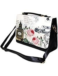 SAISHA Women's Handbag (Black-GWG0914)
