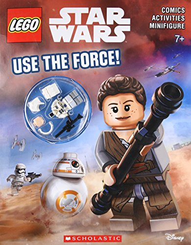 Use the Force! (Lego Star Wars: Activity Book) [With Minifigure]