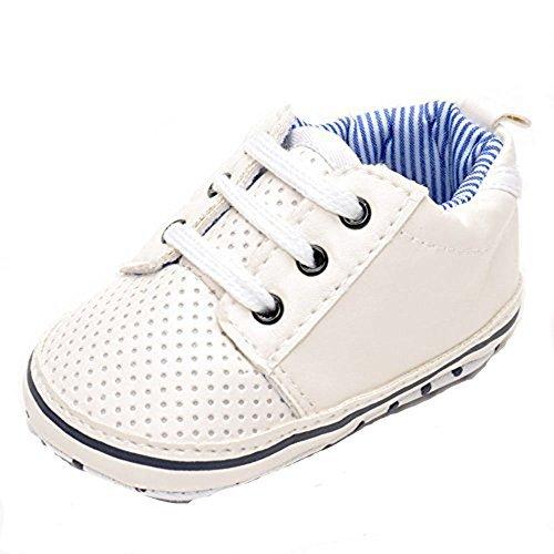 estamico bébé garçon chaussures de tennis pour homme Blanc